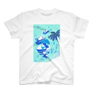 夏時間 T-shirts