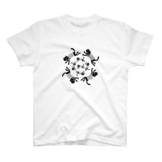 廻る猫 T-shirts