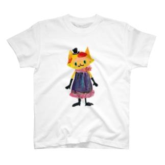 ねこびとさん(アリア) T-shirts