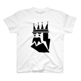 王 Tシャツ(デフォルト) T-shirts