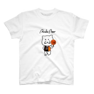 Boobs Bear バスケ T-shirts