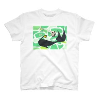 なめくじらの海 木漏れ日と午睡Tシャツ T-shirts