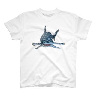 FIELD EDGE.のシュモクザメ T-shirts