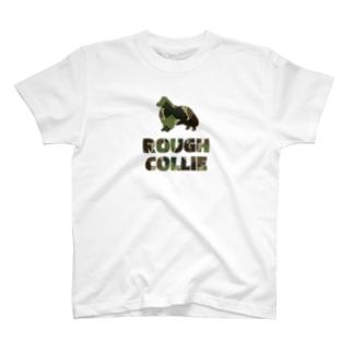 ラフコリー 迷彩柄 T-shirts