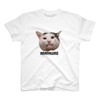黒目のナナクロ T-shirts