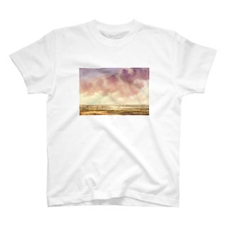 View of Haarlem and the Haarlemmer Meer remix T-shirts