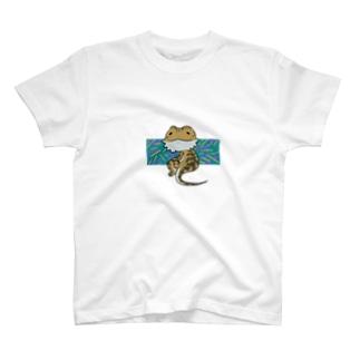 フトアゴヒゲトカゲ T-shirts