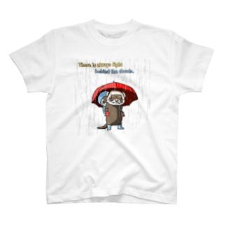 もうすぐ晴れるかな? T-shirts