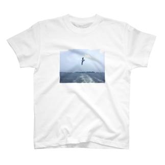 カモメがとんだ T-shirts
