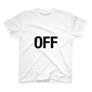 オフの日に着るためのTシャツ T-shirts