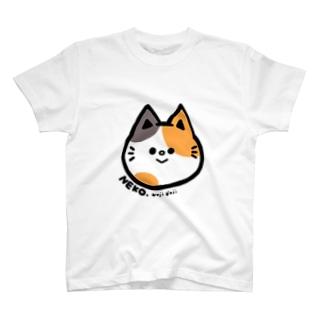 NEKO #みけ T-shirts