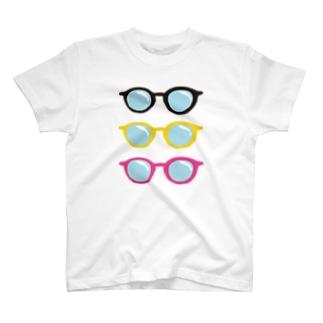 めがね。めがねめがね T-shirts