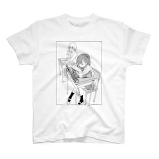 がんばれ!暴行少女ちゃん! T-shirts