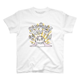ぴかんとあまびえさん T-shirts