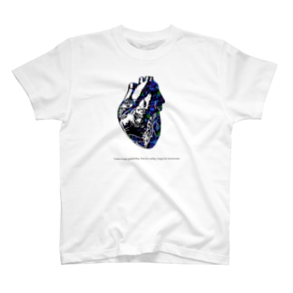 ハートグラフィックcoler T-shirts