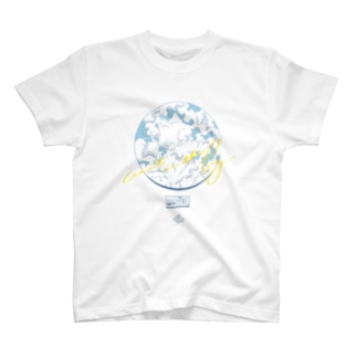 wait in the fog 夏っぽい Ver. T-shirts