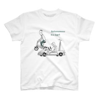 Autonomous Go-kart T-shirts