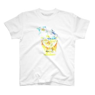 ほろ酔いmoon T-shirts