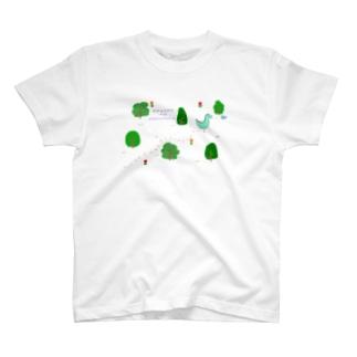 エモエモのエモザウルス T-shirts