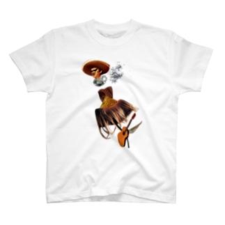 天国ギター T-shirts