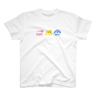 つるなますスポーティロゴ T-shirts