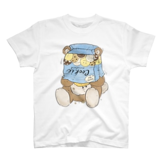 crazy/bear(color) T-shirts