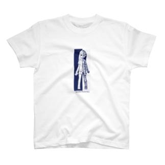 透視図少女 T-shirts