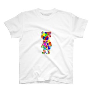 ペンキくま T-shirts