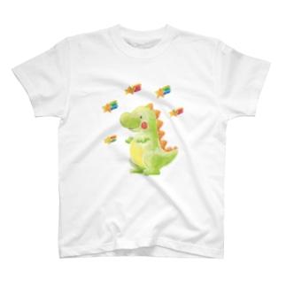 夢見る恐竜 T-shirts