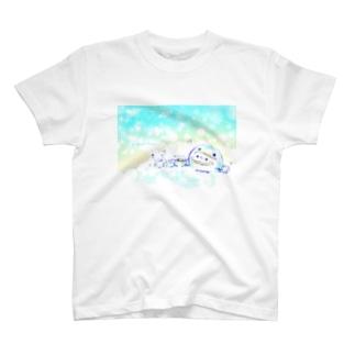 ひんやりペンギンましまろう T-shirts