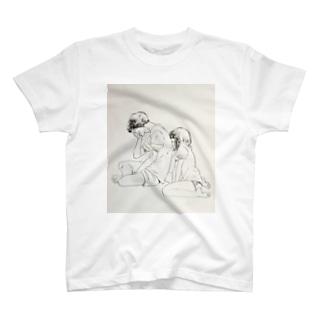 カップル T-shirts
