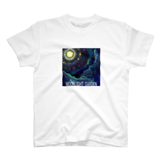 moonlight garden 01 T-shirts