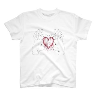 漏れる愛 T-shirts