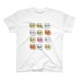 いっぱいハムスター T-shirts