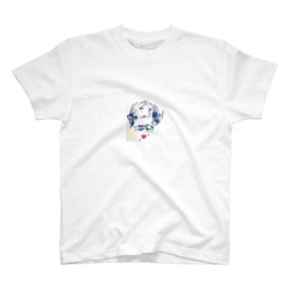 お花の輪 T-shirts