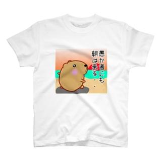 きゃぴばら【愚か者にも朝は来る】 T-shirts