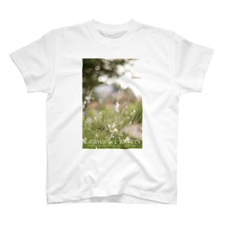 Leaves & FlowersのLeaves & Flowers Tシャツ T-shirts