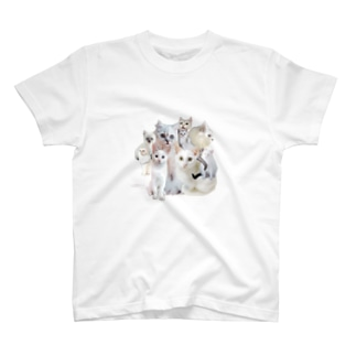 cats collage T-shirts