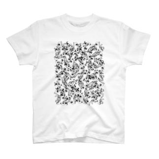 侵略ウィンナー T-shirts