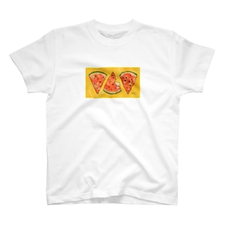わたくまくんとスイカ T-Shirt