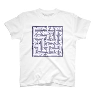 遊べる迷路 T-shirts