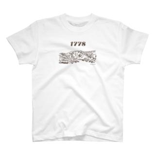 近所の二百名山 八海山1778m T-shirts