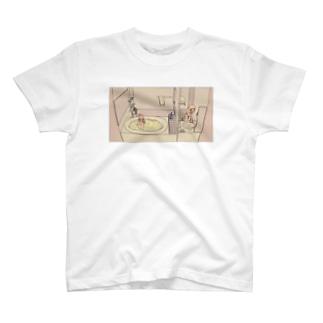 驟々みそばたです。のきんちょうする T-shirts