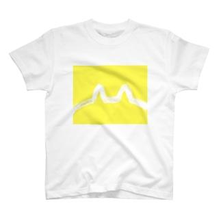 耳と尻イエロー T-shirts