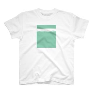 ten maru sikaku なみもよう T-shirts