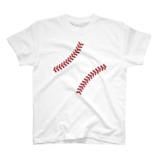 ベースボールシーム T-shirts