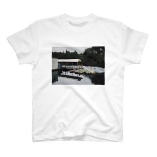 ボート乗り場 T-shirts