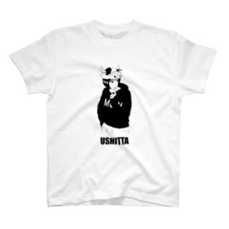 ウシったガール T-shirts