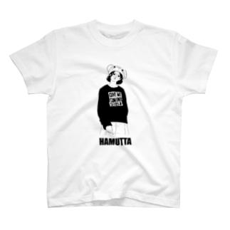 ハムったガール T-shirts