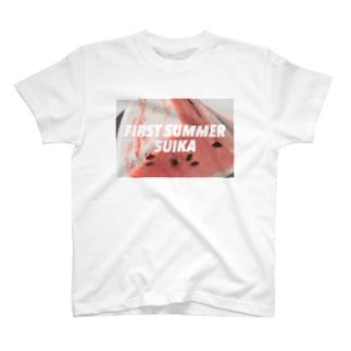 ファーストサマースイカ T-Shirt